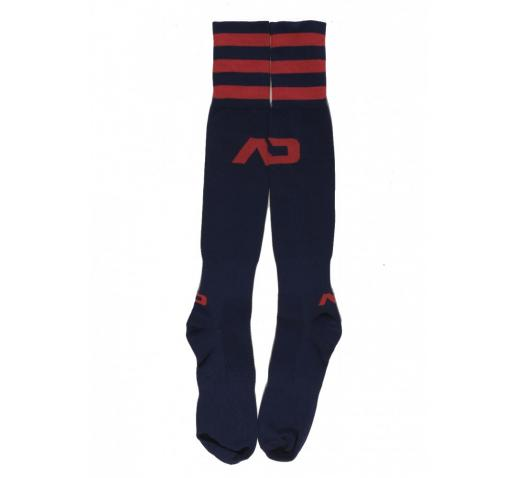 ADDICTED BASIC KNEE-LENGTH SOCKS - Navy