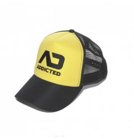 ADDICTED ONE SIZE FETISH CAP - Yellow