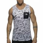 ADDICTED UFO TANK TOP - White