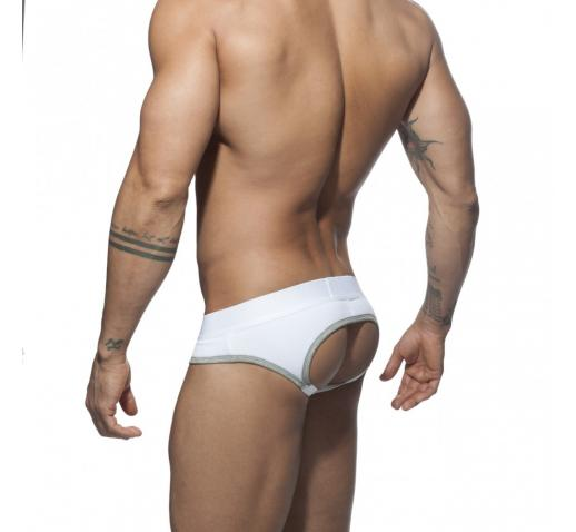 ADDICTED VELVET COMBI JOCK - Heather Grey