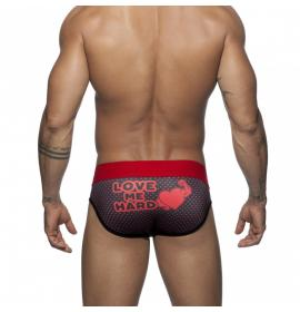 ADDICTED VALENTIN BRIEF - Red