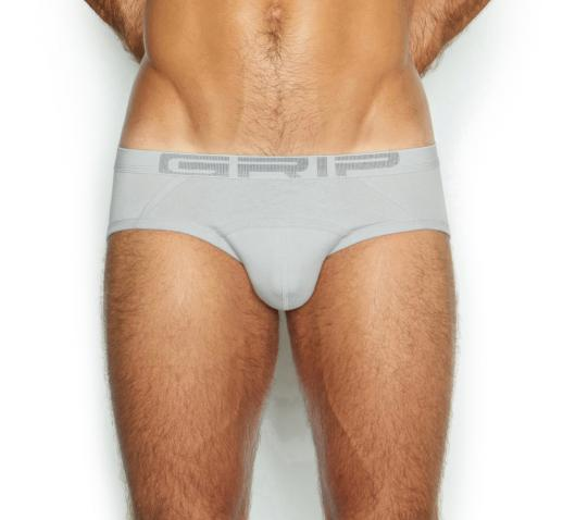 C-IN2 GRIP LITE COLLECTION LOW RISE BRIEF - GREY