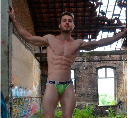 DUB UNDERWEAR BIKINI BRIEF - Green
