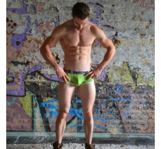 DUB UNDERWEAR TRUNK SIDES - Green