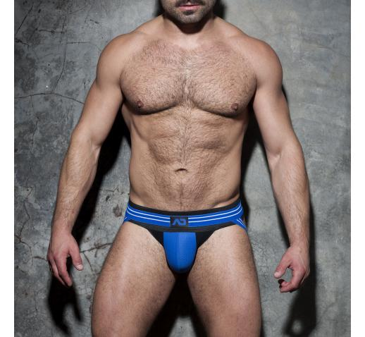 ADDICTED FETISH DOUBLE STRIPE JOCK - Royal Blue