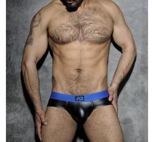 ADDICTED FETISH RUB BRIEF BACK OPEN - Blue