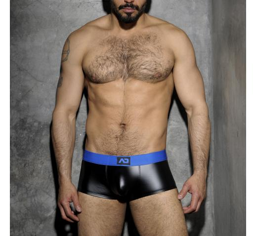 ADDICTED FETISH RUB BOXER BACK OPEN - Blue