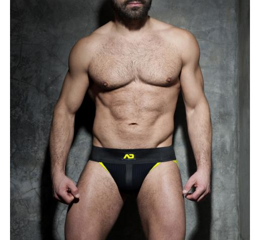 ADDICTED FETISH RIB JOCK - Yellow