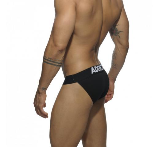 ADDICTED BIKINI BRIEF - Black
