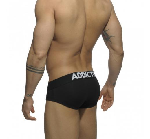 ADDICTED MY BASIC BRIEF - Black