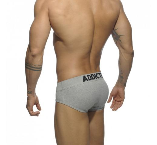 ADDICTED MY BASIC BRIEF - Heather Grey