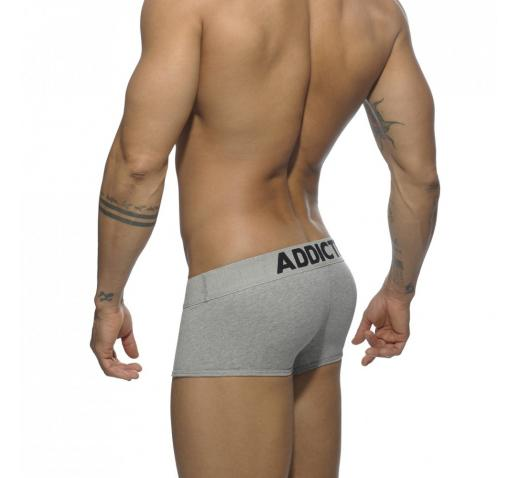 ADDICTED MY BASIC BOXER - Heather Grey