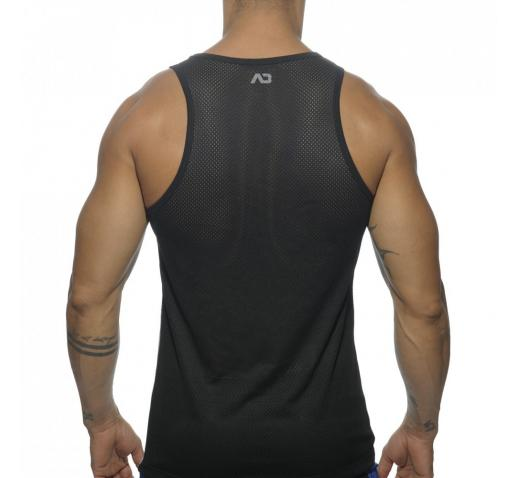 ADDICTED GEOMETRIX TANK TOP - Black