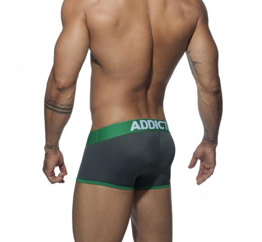 ADDICTED SWIMDERWEAR BOXER - Charcoal