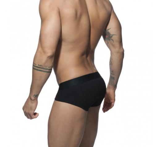 ADDICTED VELVET COMBI BRIEF - Black