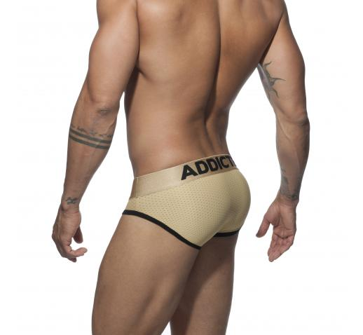 ADDICTED GOLD MESH BRIEF - Gold