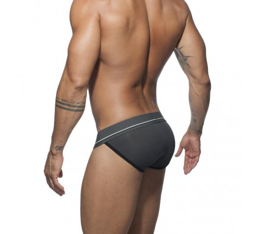 ADDICTED SPORT 09 BIKINI - Charcoal