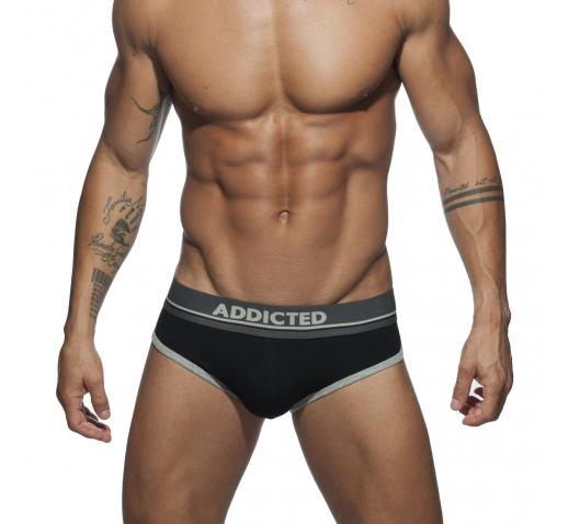 ADDICTED CURVE BRIEF - Black