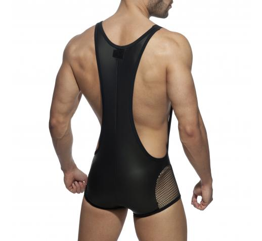 ADDICTED AD PARTY SINGLET - Black