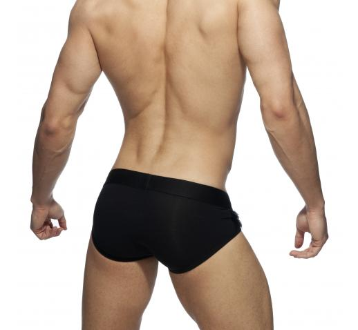 ADDICTED PARTY FEATHER BRIEF - BLACK