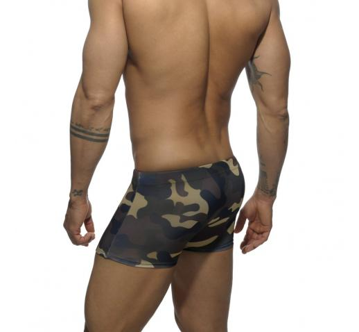 ADDICTED CAMOUFLAGE PRINTED SWIM BOXER - Camouflage