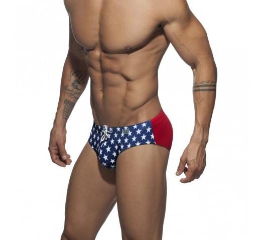 ADDICTED STARS PRINTED BRIEF - Navy