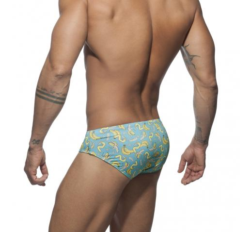 ADDICTED BANANA SWIM BRIEF - Turquoise