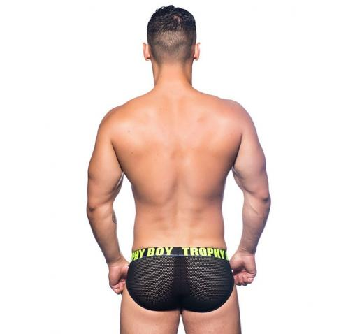 ANDREW CHRISTIAN TROPHY BOY NET BRIEF - Black