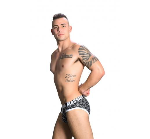 ANDREW CHRISTIAN MASSIVE SHOCKWAVE BRIEF - BLACK