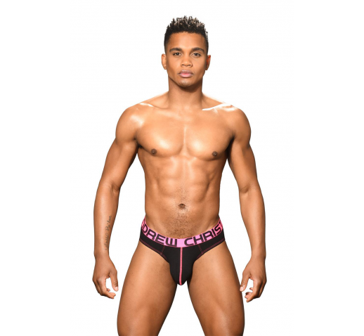 ANDREW CHRISTIAN ALMOST NAKED HAPPY BRIEF - BLACK