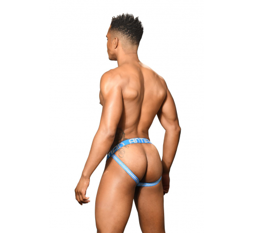 ANDREW CHRISTIAN ALMOST NAKED HAPPY JOCK - ELECTRIC BLUE