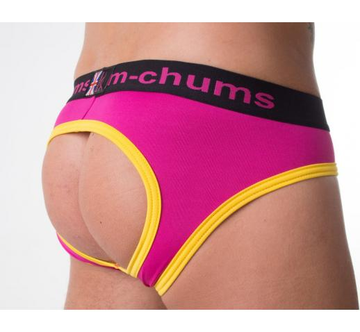 BUM CHUMS RHUBARB & CUSTARD BACKLESS BRIEF