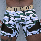 CHULO AIRFLOW CAMOUFLAGE SPORT BOXER - GREEN
