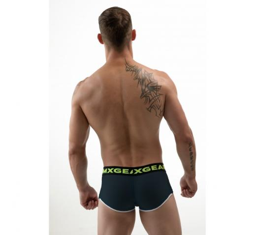 DMXGEAR HOLE NET BOXER TRUNK - BLACK
