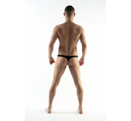 DMXGEAR LOVE BOY BLACK MESH MEN'S THONG