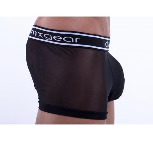 DMXGEAR LUXURY SWEET MESH BOXER TRUNK - BLACK
