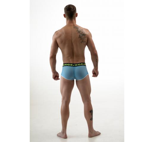 DMXGEAR HOLE NET BOXER TRUNK - BLUE