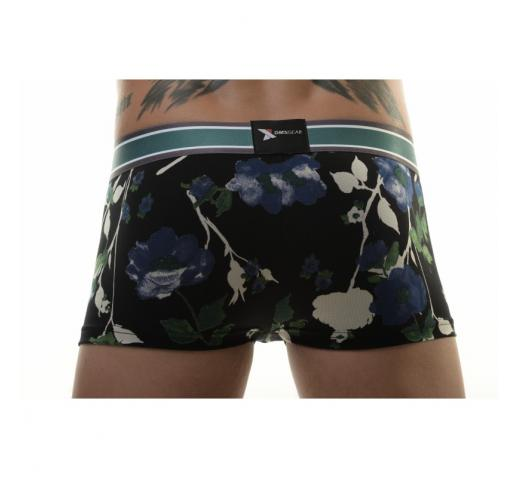 DMXGEAR LUXURY FLORA BOXER TRUNK - BLUE