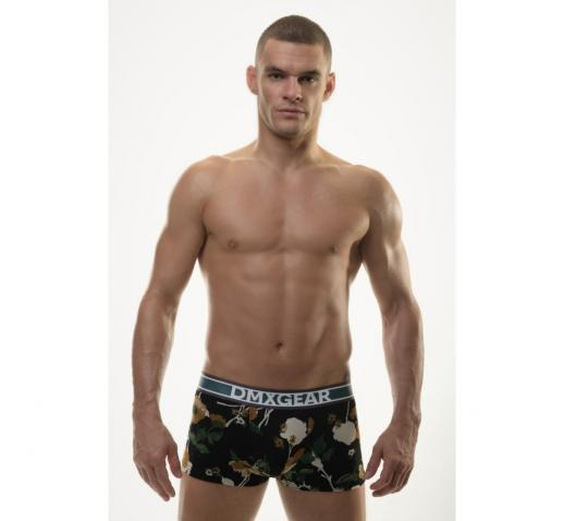 DMXGEAR LUXURY FLORA BOXER TRUNK - ORANGE