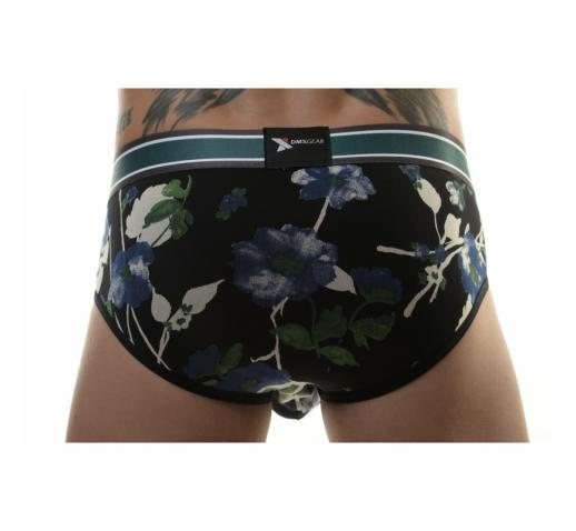 DMXGEAR LUXURY FLORA BRIEF - BLUE