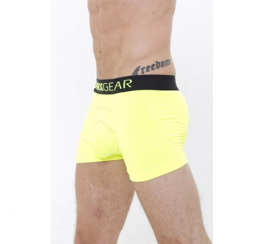 DMXGEAR LUXURY COTTON NEON BOXER - YELLOW