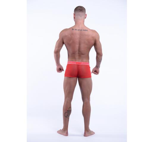 DMXGEAR LUXURY SWEET MESH BOXER TRUNK - RED