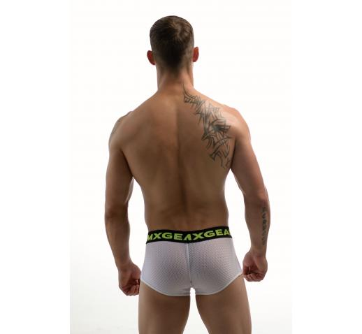 DMXGEAR HOLE NET BOXER TRUNK - WHITE