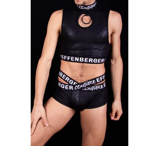 EFFENBERGER COUTURE X-BOXER SNAKE - Black