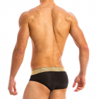 MODUS VIVENDI FESTIVE LUX BRIEF - Black