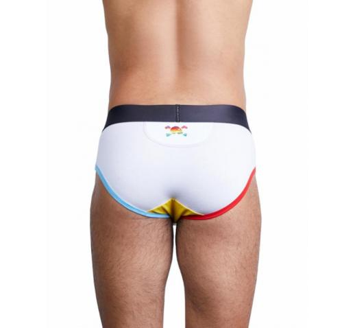 SKULL AND BONES LIMITED EDITION BRIEF - White