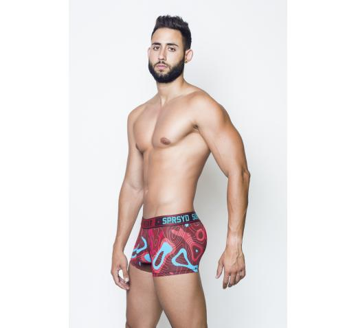 SUPAWEAR GUERILLA SPRINT TRUNK - RED