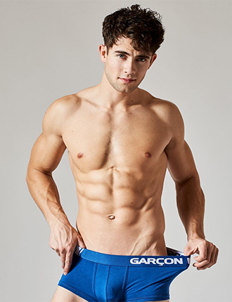 Garcon Model And there creation arrival on the Mens Underwear Market.